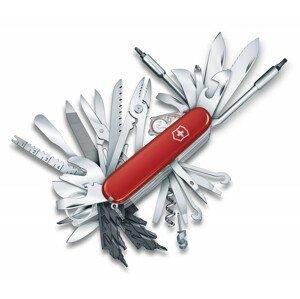 Kapesní nůž Victorinox Swiss Champ XXL 91mm Barva: červená