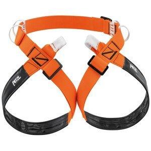Horolezecký úvazek Petzl Superavanti Velikost: M / Barva: oranžová