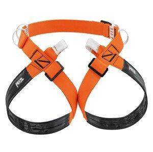 Horolezecký úvazek Petzl Superavanti Velikost: L / Barva: oranžová