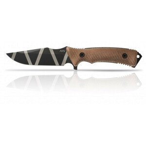 Nůž Acta Non Verba M311 Spelter DLC Camo/Coyote/Coyote Barva: hnědá