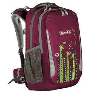 Školní batoh Boll School Mate 20 Giraffe Barva: růžová