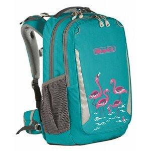 Školní batoh Boll School Mate 20 Flamingos Barva: tyrkysová