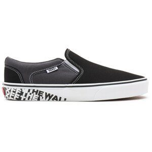 Pánské boty Vans MN Asher Velikost bot (EU): 42,5 / Barva: černá/šedá