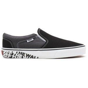 Pánské boty Vans MN Asher Velikost bot (EU): 45 / Barva: černá/bílá