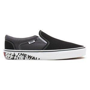 Pánské boty Vans MN Asher Velikost bot (EU): 47 / Barva: černá/bílá