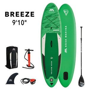 Paddleboard Aqua Marina SUP Breeze 9'10″ Barva: zelená