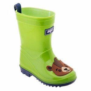 Dětské holínky Bejo Cosy Wellies Kids Dětské velikosti bot: 22 / Barva: zelená