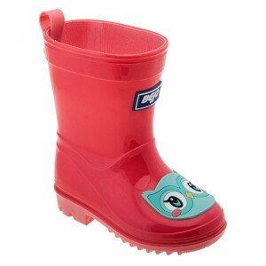 Dětské holínky Bejo Cosy Wellies Kids Dětské velikosti bot: 22 / Barva: růžová