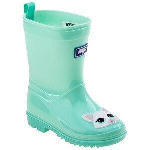 Dětské holínky Bejo Cosy Wellies Kids Dětské velikosti bot: 22 / Barva: světle zelená