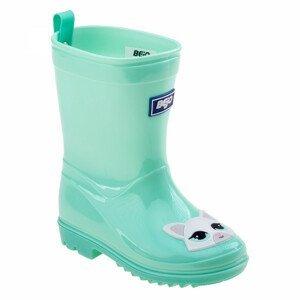 Dětské holínky Bejo Cosy Wellies Kids Dětské velikosti bot: 23 / Barva: světle zelená