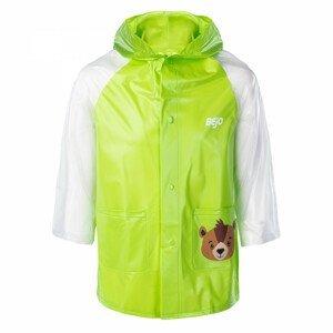 Dětská pláštěnka Bejo Cozy Raincoat Kids Velikost: 110-116 / Barva: zelená
