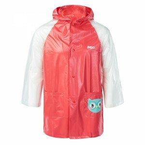 Dětská pláštěnka Bejo Cozy Raincoat Kids Velikost: 110-116 / Barva: růžová