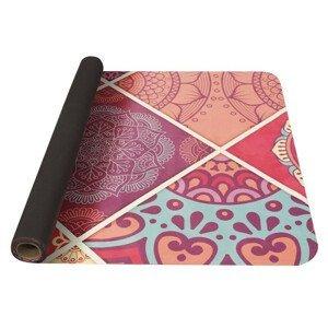 Jogamatka Yate Yoga Mat přírodní guma Barva: růžová