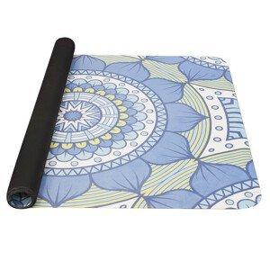 Jogamatka Yate Yoga Mat přírodní guma Barva: modrá/zelená