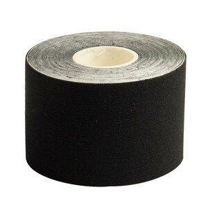Tejpovací páska Yate Kinesiology tape 5 cm x 5 m Barva: černá