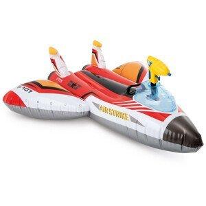 Nafukovací hračka Intex Water Gun Plane Ride-Ons 57536NP Barva: červená