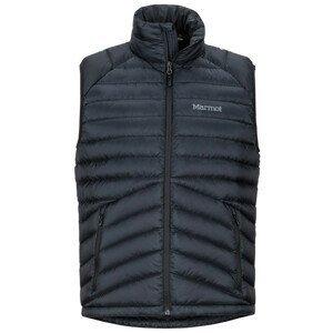 Pánská vesta Marmot Highlander Down Vest Velikost: XL / Barva: černá