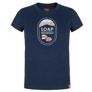 Dětské triko Loap Bamsy Dětská velikost: 134-140 / Barva: modrá