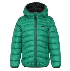 Dětská bunda Loap Infery Dětská velikost: 158-164 / Barva: zelená