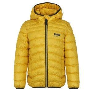Dětská bunda Loap Infery Dětská velikost: 122-128 / Barva: žlutá