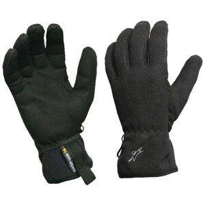 Rukavice Warmpeace Finstorm Velikost rukavic: S / Barva: černá