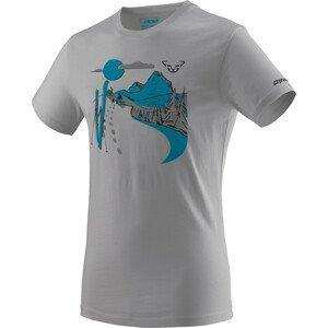 Pánské triko Dynafit Artist Series Co T-Shirt M Velikost: XL / Barva: světle šedá