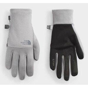 Rukavice The North Face Etip Recycled Velikost rukavic: M / Barva: šedá/černá