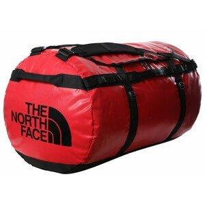Cestovní taška The North Face Base Camp Duffel - XXL Barva: červená/černá