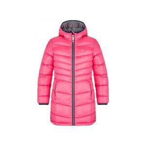 Dětský kabát Loap Ingritt Dětská velikost: 164 / Barva: růžová