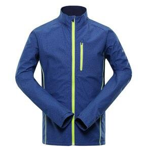 ALPINE PRO Technic 2 Modrá Pánská sportovní bunda M