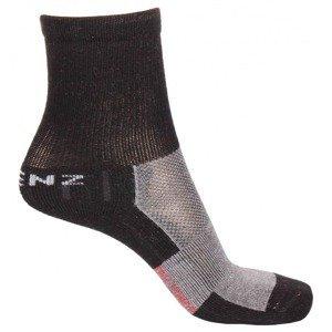 Trekking Kids 1.0 dětské ponožky černá Velikost (obuv): EU 35-38