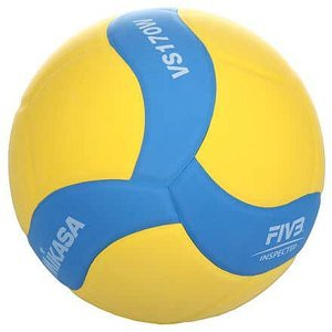 VS170W volejbalový míč modrá-žlutá