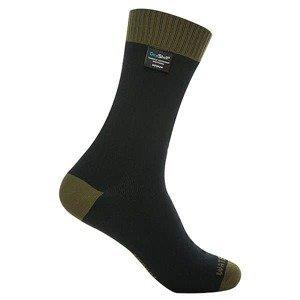 Nepromokavé ponožky DexShell Thermlite Barva Olive Green, Velikost S