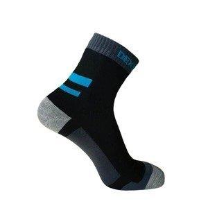 Nepromokavé ponožky DexShell Running Barva Aqua Blue, Velikost L