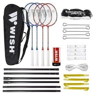 Sada na badminton ALUMTEC 5566 červeno-modrá