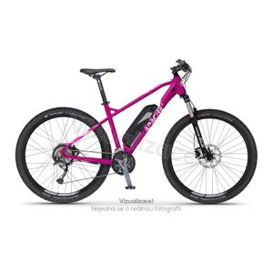 """Elektrokolo MTB 27,5"""" Apache Yamka E4 ruby purple, 14,5"""" - montáž zdarma, servis u zákazníka"""