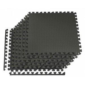 Podložka pod posilovací stroje 6ks 60 x 60 x 1 cm černá