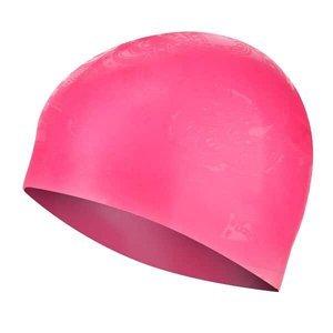 Silikonová čepice SPURT G-Type SC16 woman se vzorem, růžová