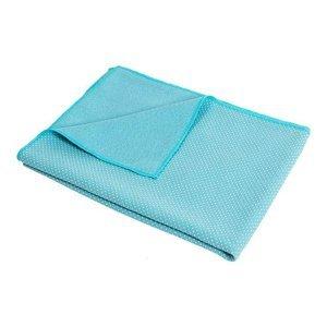 YOGA Antislip ručník P2I 170x60 cm modrý - Modrý