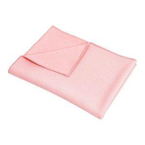 YOGA Antislip ručník P2I 170x60 cm modrý - Růžová