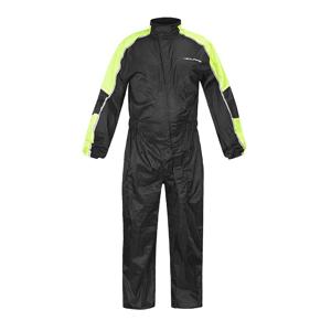 Moto pláštěnka NOX/4SQUARE Safety Barva černá-fluo žlutá, Velikost L