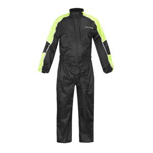 Moto pláštěnka NOX/4SQUARE Safety Barva černá-fluo žlutá, Velikost 5XL