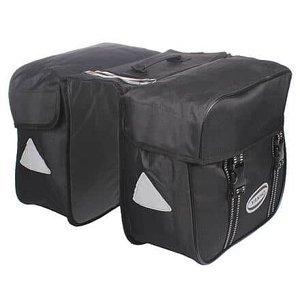 Double dvojbrašna na nosič černá