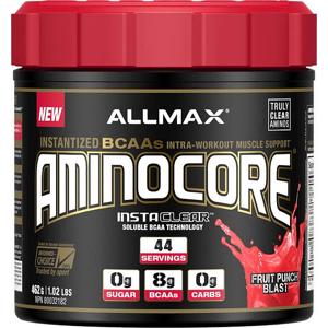 Allmax Aminocore - VÝPRODEJ Hmotnost: 462g, Příchutě: Ananas s Mangem