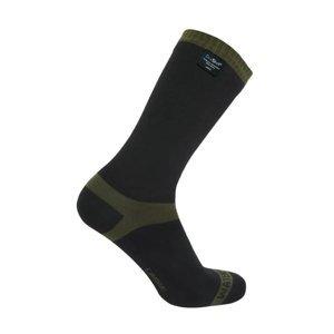 Nepromokavé ponožky DexShell Trekking Barva Olive, Velikost L