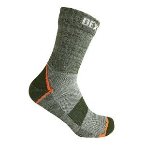 Nepromokavé ponožky DexShell Terrain Walking Ankle Sock Barva Heather Pale Green, Velikost L