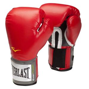 Boxerské rukavice Everlast Pro Style 2100 Training Gloves Barva červená, Velikost M (12oz)