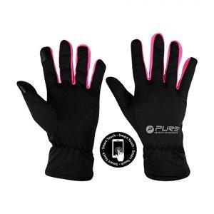 Běžecké rukavice Purre2Improve S/M růžová
