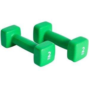Činka NEOPREN P2I set - Zelená 2x2 kg