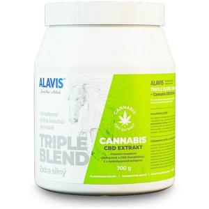 ALAVIS Triple Blend Extra silný + Cannabis CBD Extrakt 700 g - VÝPRODEJ